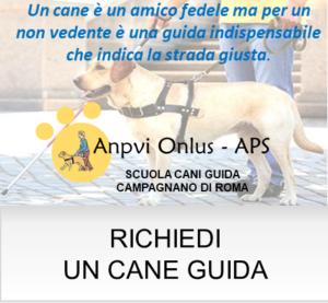 RICHIEDI CANE GUIDA