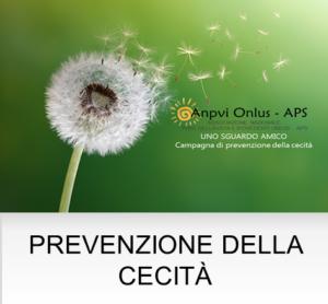 prevenzione della cecità
